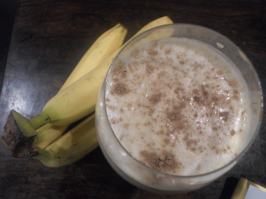 peanut butter bananamilkshake