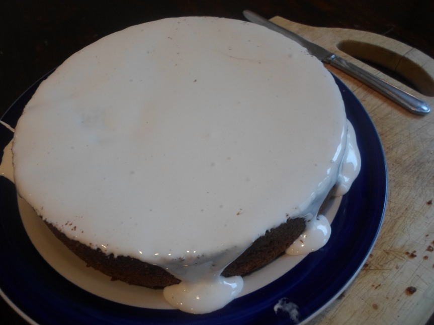 peppermint chocolate cake – an experiment with italian meringue