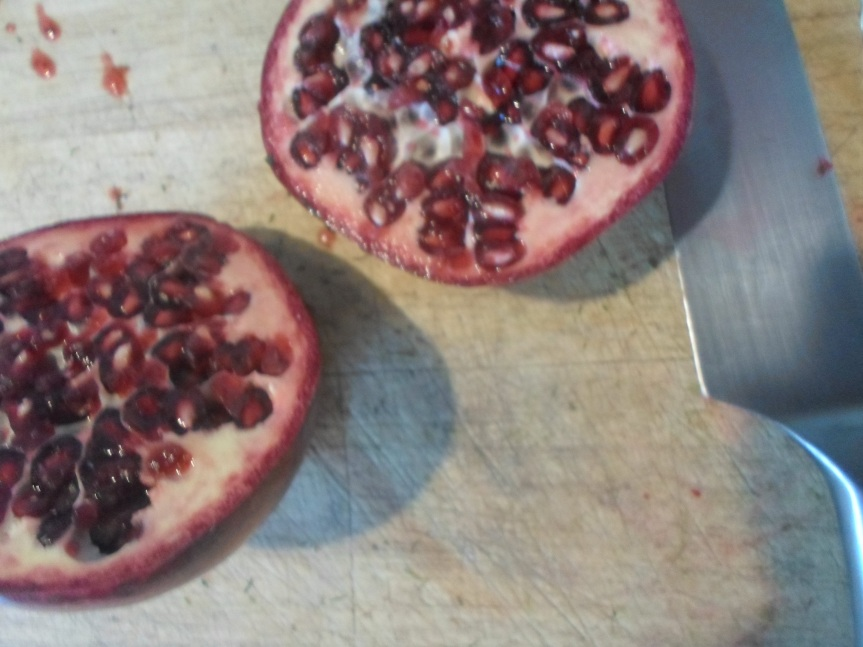 ode to the pomegranate