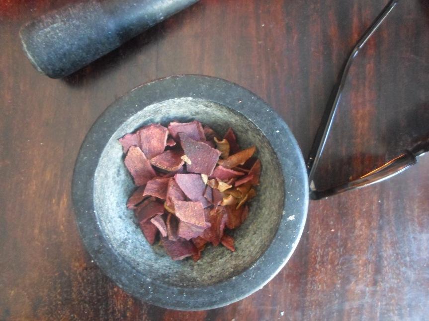 homemade: pomegranate lemontea